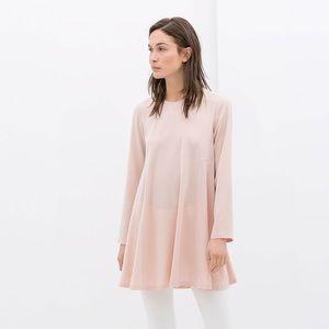 ZARA Dusty Pink Dress